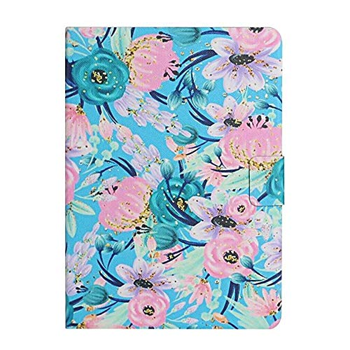 Case For Apple iPad 10.2 iPad Pro 11 2020 iPad Air 10.5 2019 Card Holder with Stand Pattern Full Body Cases Flower PU Leather-iPad_mini_4