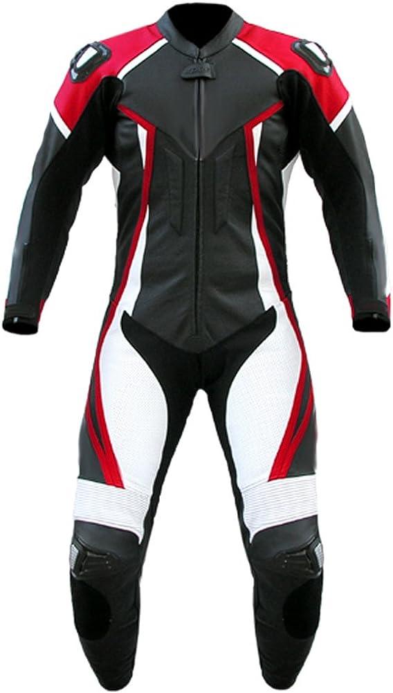 SleekHides Men's Fashion Motorcycle Real Leather Quality Suit