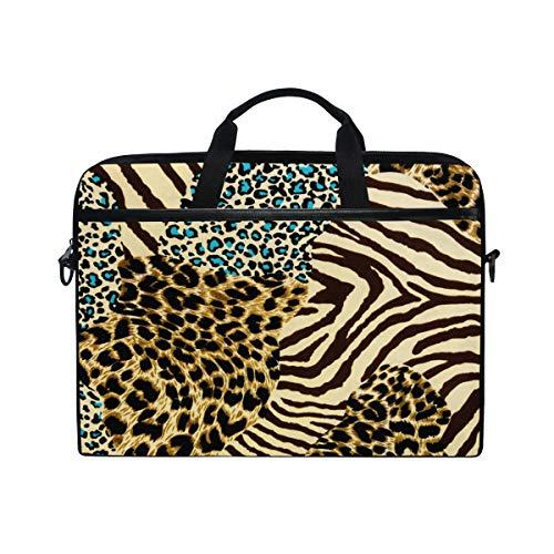 Unisex PU Leather Backpack Zebra Texture Black and White Print Womens Casual Daypack Mens Travel Sports Bag Boys College Bookbag