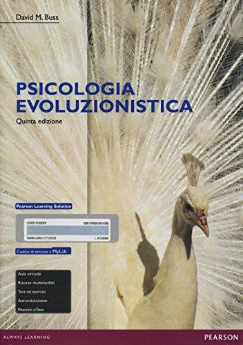 Psicologia evoluzionistica. Ediz. mylab. Con espansione online