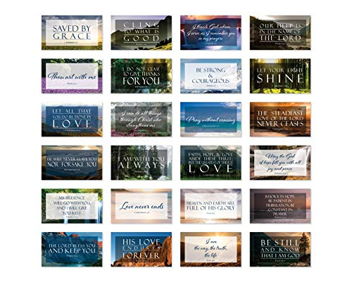 Share a Verse Bible Cards with Full Scripture - Pack of 48