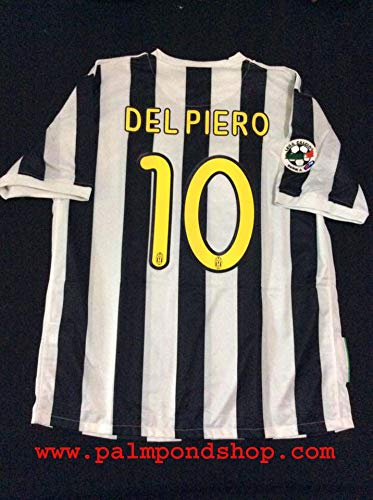 ZA Alessandro DEL Piero Retro Soccer Trikot Size XL Full Patch