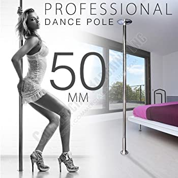 Xperience Formally Known As X-Dance 50mm Dance Pole Kit Competition Commercial Portable Fitness Exercise by Commercial Bargains