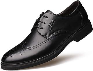 [DOUERY LTD] ビジネスシューズ メンズ ローファー アシックス 商事 通気性 ス 黒 ブラック 靴 軽量 ポインテッドトゥ カジュアルシューズ 小さいサイズ 走れる 防水