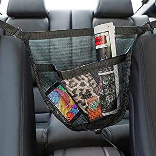 Motorup America 2 in 1 Auto Purse Holder Organizer Pouch Fits Select Vehicles Car Truck Van SUV