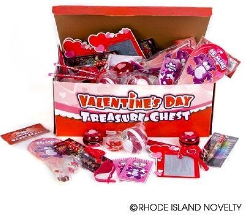 ventas calientes Valentines Juguete and Novelty Treaure Chest (100 pieces per order) order) order) by Rhode Island Novelty  el mas de moda