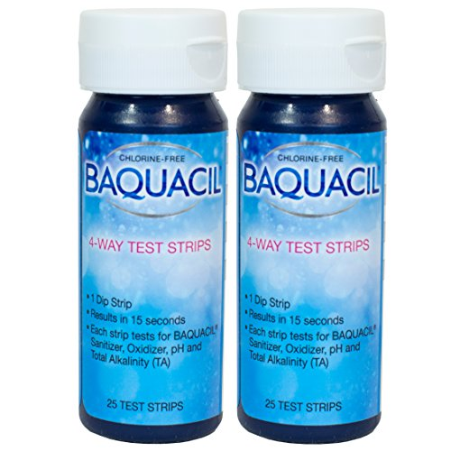 Baquacil 4 Way Test Strips – 25 count – 2 Pack