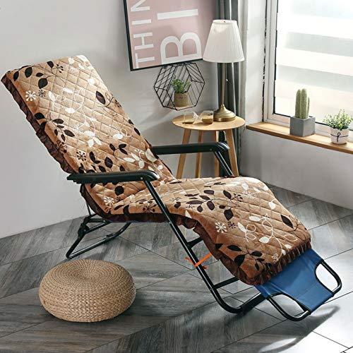 IKES Recliner Chair Pad,seat Cushion Swing Chair Rocking Chair Not Deformed Garden Bench Cushion,M,52X130cm