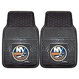 FANMATS 10464 NHL - Set di 2 tappetini per Auto in Vinile Resistente di New York Islanders