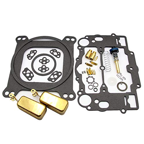 Carburetor Rebuild Kit for Edelbrock 1477 1400 1404 1405 1406 1407 1409 1411 AFB Performance 4 Barrel 400 500 600 625 750 CFM with Brass Floats