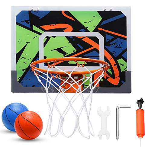 Warmfunn Pro Mini Basketballkorbset für Kinder - 16