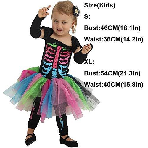 ZHANGHUI Trajes de Miedo Vestidos de Halloween for Hombres, Adultos de Disfraces de Halloween, de Las Mujeres de Disfraces de Halloween (Color : Infant, Size : S)