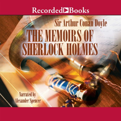 The Memoirs of Sherlock Holmes audiobook cover art