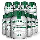 Cápsulas NMN, 300 mg, 60 cápsulas, aumentan naturalmente los niveles de NAD, suplemento de mononucleótido de nicotinamida, prueba de terceros (10 botellas)