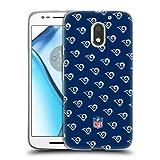 Head Case Designs Oficial NFL Patrones 2017/18 Los Angeles RAMS Carcasa de Gel de Silicona Compatible con Motorola Moto E3