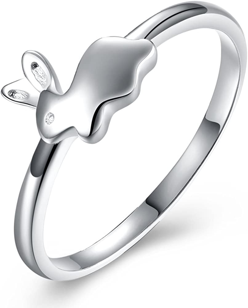Ginger Mesa Mall Brand Cheap Sale Venue Lyne Collection Adorable Bunny Rabbit Ring Girls W for or