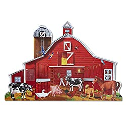 Melissa & Doug Farm Friends 32 Piece Floor Puzzle
