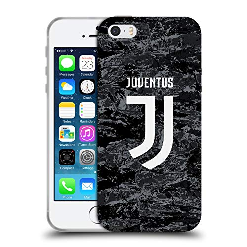 Head Case Designs Oficial Juventus Football Club Portero Local Kit de Carreras 2019/20 Carcasa de Gel de Silicona Compatible con Apple iPhone 5 / iPhone 5s / iPhone SE 2016