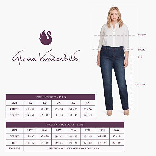 Product Image 9: GLORIA VANDERBILT Women's Plus Size Classic Amanda High Rise Tapered Jean