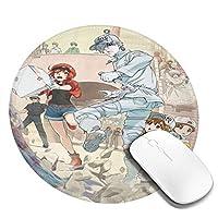 マウスパッド はたらくcomic 細胞 オフィス 滑り止め ゲーム クッション For ラップトップ 文房具 アクセサリ