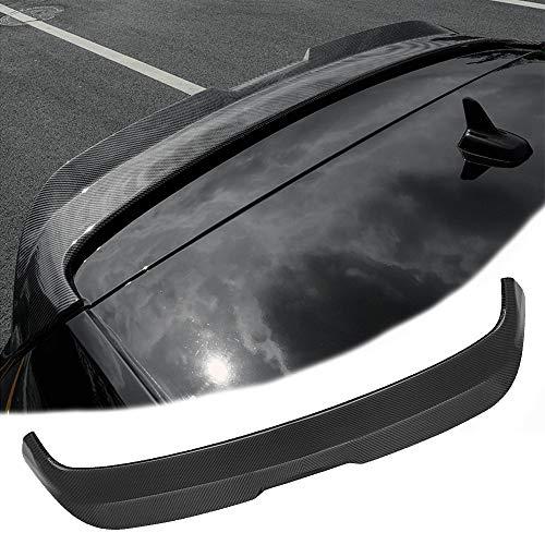 Premium ABS Material Kohlefaser-Textur Auto Heckspoiler Spoiler für VW Golf 7 MK7/7.5 GTI/GTD/7R 2013-2019, 3M Kleber und einfache Installation, 2th Upgrade Design