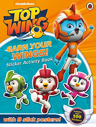 Top Wing: Earn Your Wings!: Sticker Activity Book