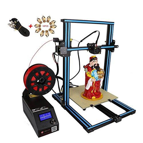 wisamic stampante 3d CR 10s Prusa i3con Dual Z Axis Leading Screws e filamento Detector grande superficie 300X 300X 400mm
