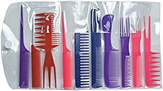Diane Assorted Comb Kit 10Count [並行輸入品]
