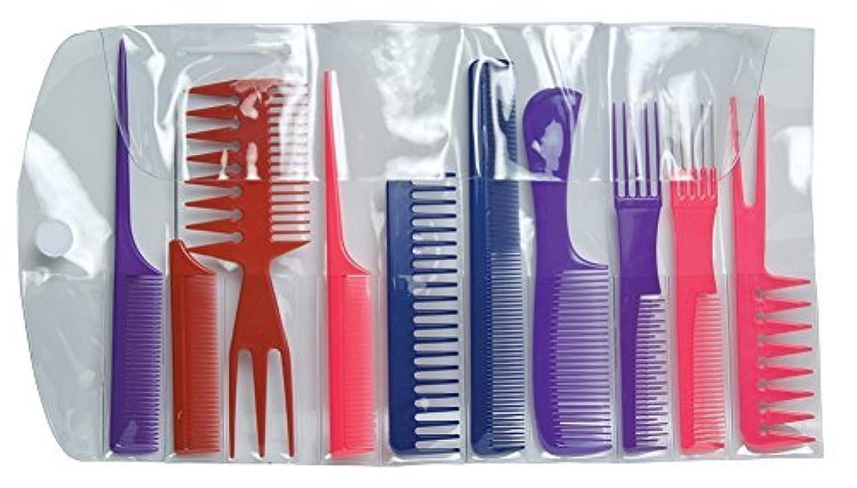 縫う理解するぶどうDiane Assorted Comb Kit 10Count [並行輸入品]
