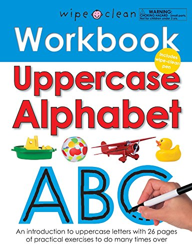 Wipe Clean Workbook Uppercase Alphabet (Wipe Clean Learning Books)