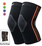 Premium Compression Knee Sleeve Plus Size Knee Brace for Running Basketball Squats Weightlifting...