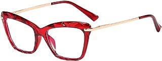 Hzjundasi Cateye Blue Light Blocking Computer Anti Eyestrain Glasses for Women