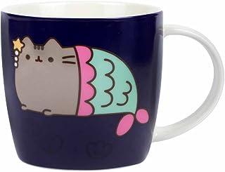 """Thumbs Up Pusheen Home – kopp med färgförändring """"sjöjungfru"""" keramik 250 ml"""