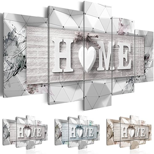 murando Canvas Wall Art 200x100 cm/ 78.8'x 39.4' Non-Woven Canvas Prints Image Framed Artwork Painting Picture Photo Home Decoration 5 Pieces Home Boards 3D m-C-0251-b-n