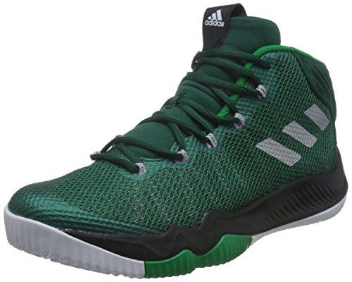 adidas Crazy Hustle Hombres Zapatillas de Deporte/Zapatos de baloncesto-Green-48.67