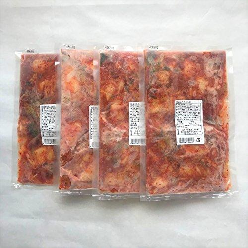 カネナカ食品 加賀能登 和きむち4個入り(240g×4袋) -クール冷凍-