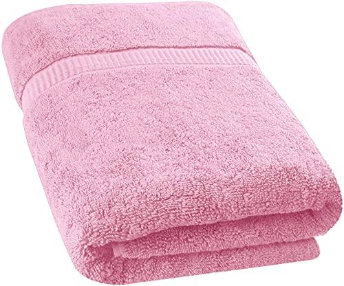 Utopia Towels - Toallas de baño Grandes, Paquete de 1 (90 x 180 cm, Rosa)