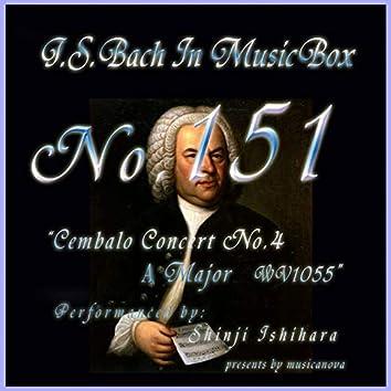 Bach In Musical Box 151 / Cembalo Concert No4 A Major Bwv1055