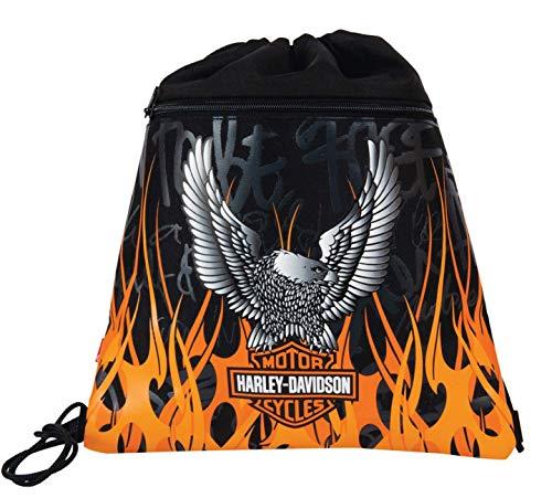 Harley Davidson 11-1989 Sacchetto per Calzature, Multicolore