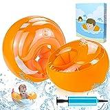 ZOOI Schwimmflügel Kinder, Schwimmhilfe für Anfänger, Swimsafe Gerät, Schwimmreifen Armumfang...