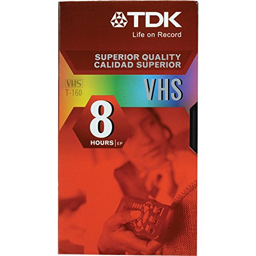 Amazing Deal TDK T-160 VHS Video Tapes - 10 Pack