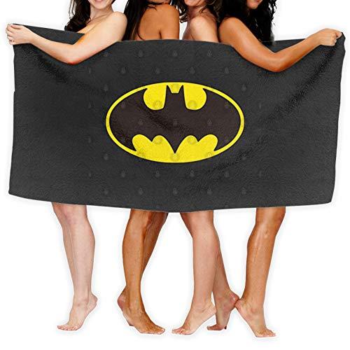 Toalla de baño de diseño icónico de Batman de secado rápido