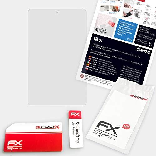 atFolix Glasfolie kompatibel mit Teclast P80 Pro Panzerfolie, 9H Hybrid-Glass FX Schutzpanzer Folie