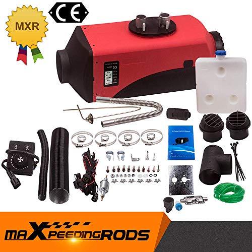 maXpeedingrods 8KW 12V Diesel-Standheizung Luftheizung Air Heater für PKW & LKW - Knopfschalter