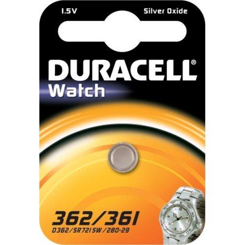 Duracell Watch 362/361 - Batterie Silberoxid 1.5V