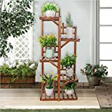 Andryani Indoor Outdoor Plant Shelf Multi Layer Vertical Planter Stand Holder Flower Rack