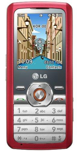LG GM205 Handy simply Red
