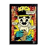 Watchmen Rorschach DC Comics - Original gerahmt Fine Art