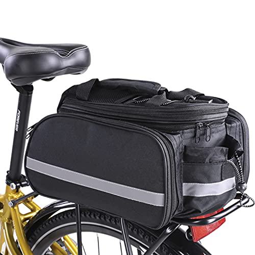 DOTOP Bike Trunk Bag Panniers 20-35L Large Capacity Saddle Bags Waterproof Bicycle Rear Rack Durable...