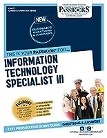Information Technology Specialist III (Career Examination)